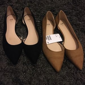 2 Pairs of H&M Flats